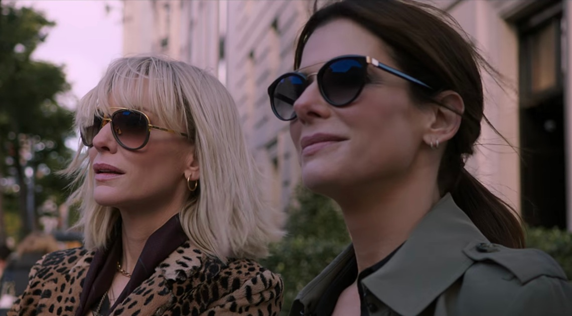 Sandra Bullock and Cate Blanchett in 'Ocean's Eight'