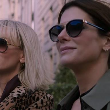 Sandra Bullock and Cate Blanchett in 'Ocean's Eight'