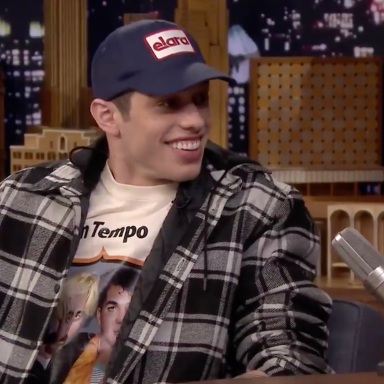 Pete Davidson on The Tonight Show with Jimmy Fallon
