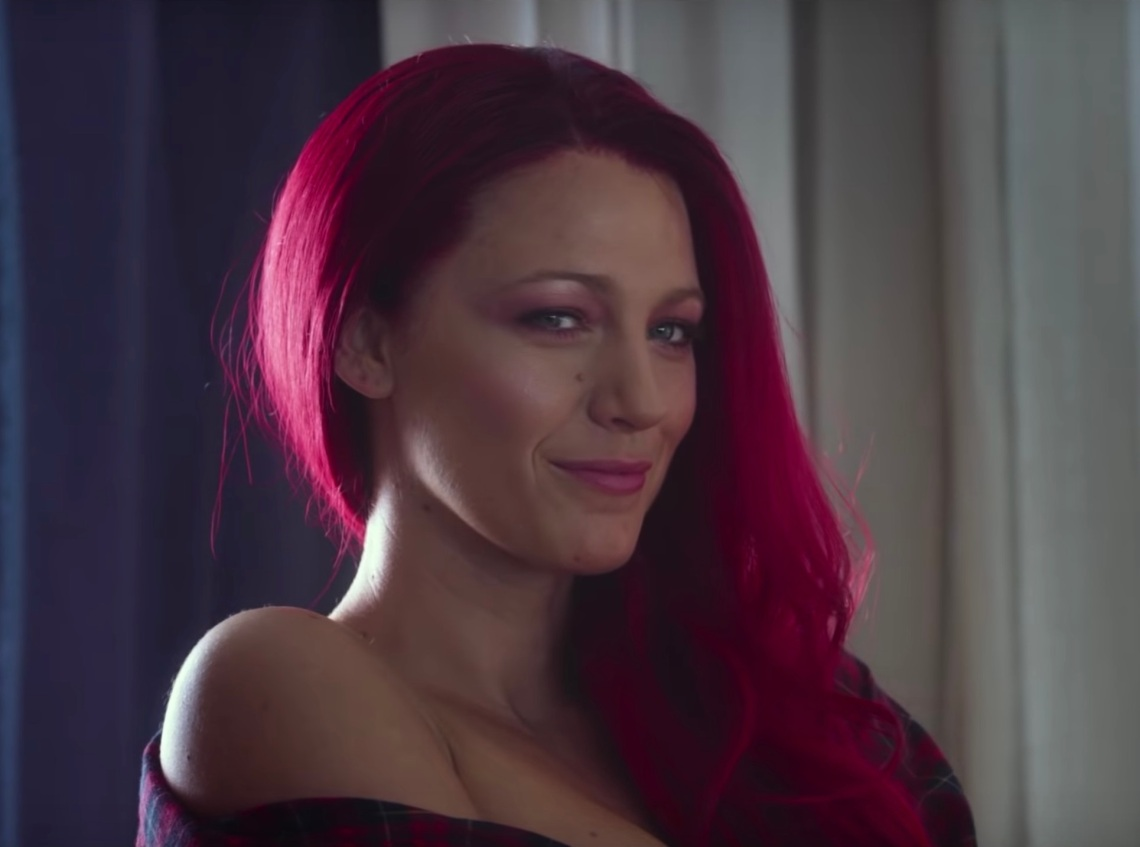 Blake Lively in the trailer for A SImple Favor