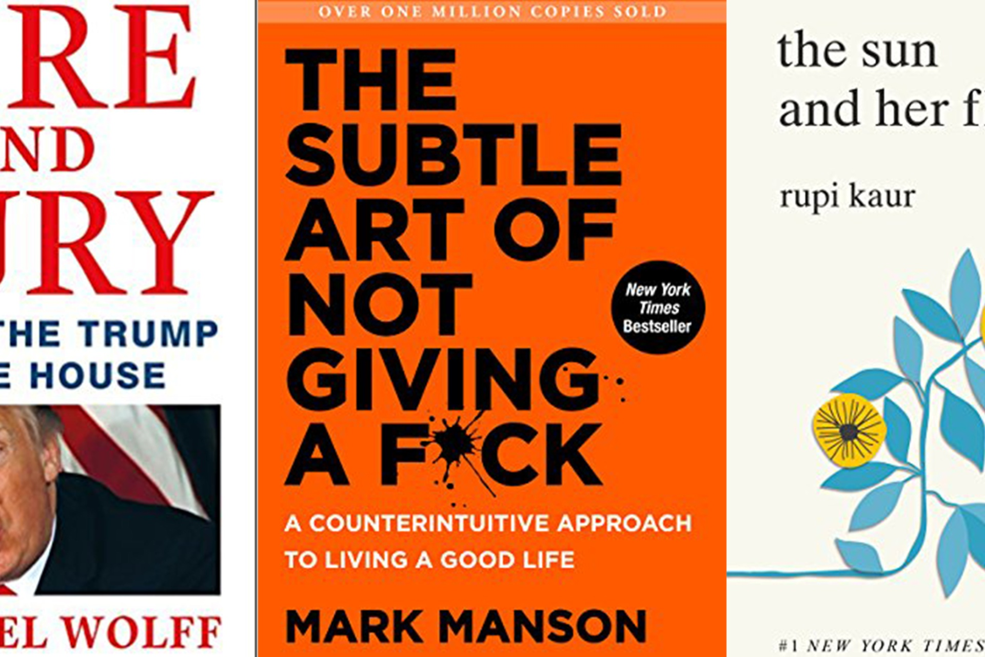 Bestselling books of 2018