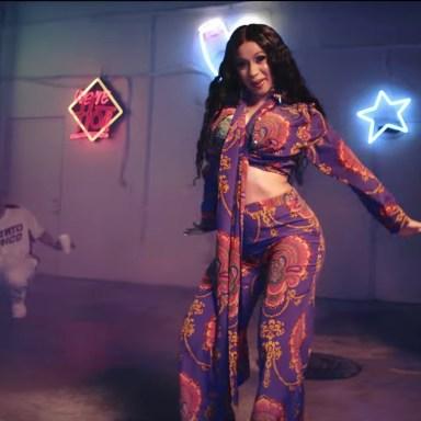 "Cardi B in ""I LIke It"" music video"