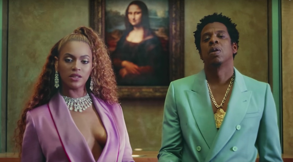 Beyoncé and JAY-Z from APESHIT video