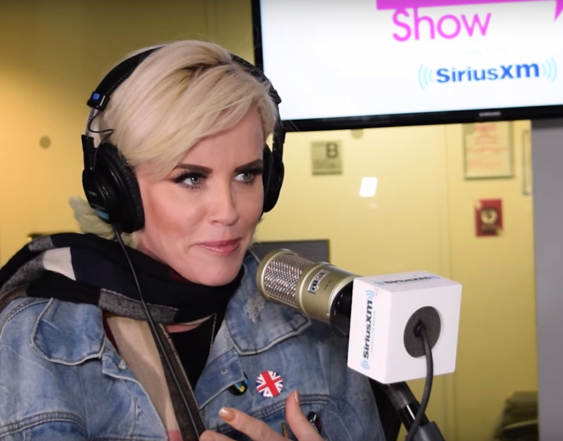 Jenny McCarthy on her talk show