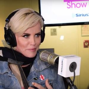 Jenny McCarthy on her talk show