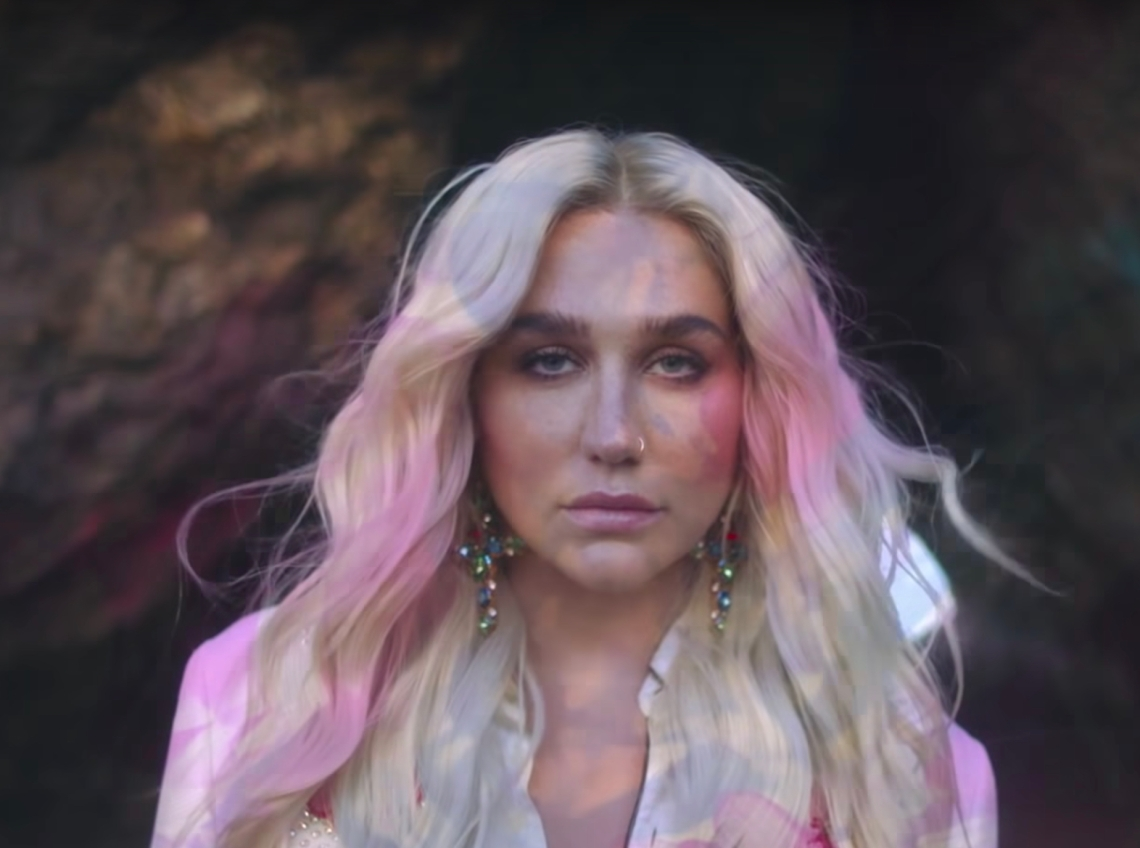 Kesha in her Rainbow documentary