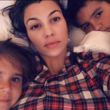 Here's What Kourtney Kardashian Thinks About Her BF's Super Mean Comment On Her Instagram