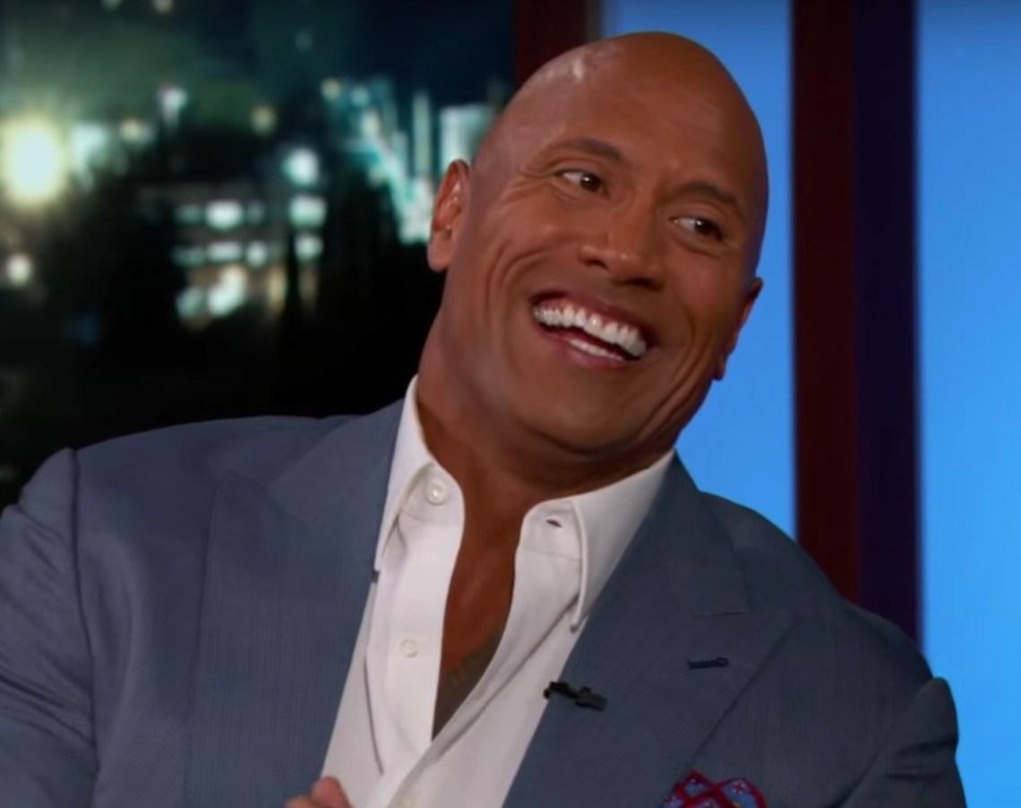 """Dwayne """"The Rock"""" Johnson on Jimmy Kimmel Live"""