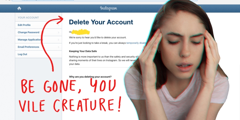 How To Delete Your InstagramAccount