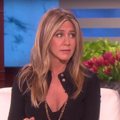 Jennifer Anniston on The Ellen Show