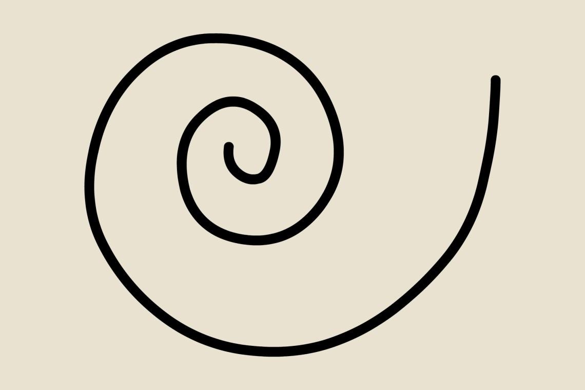 Magic Symbols: Lunar Spiral