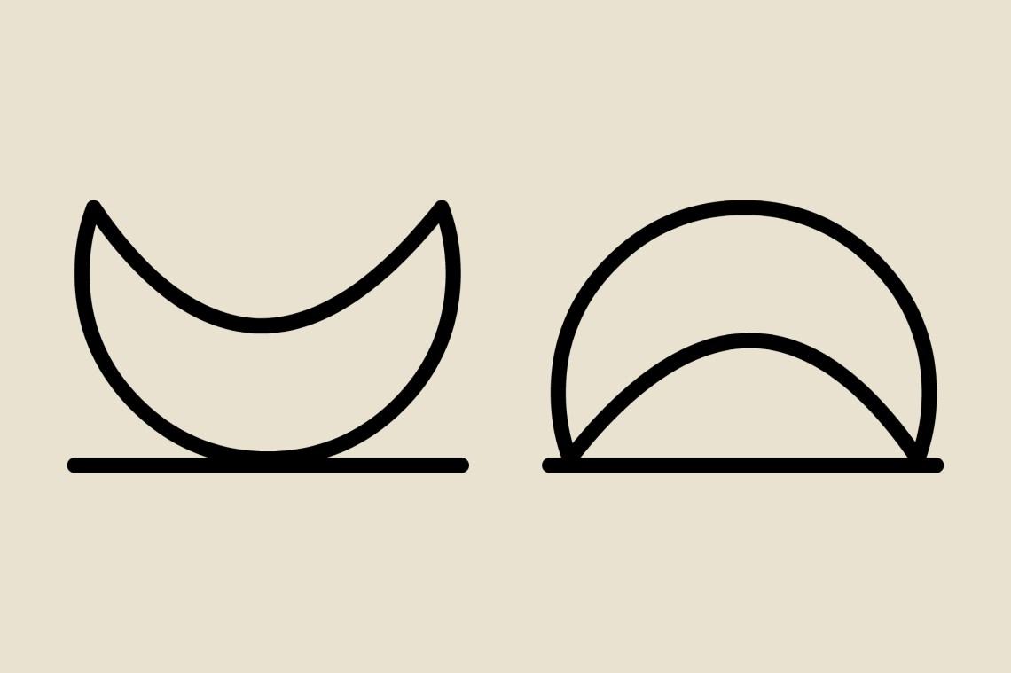Magic Symbols: Moon Rise & Set