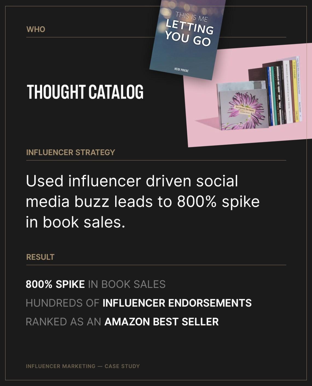 Infuelncer Marketing/Thought Catalog Books