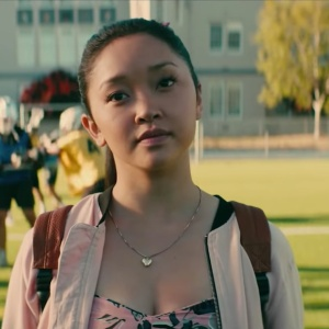 Lara Jean in the To All The Boys I've Loved Before trailer for Netflix