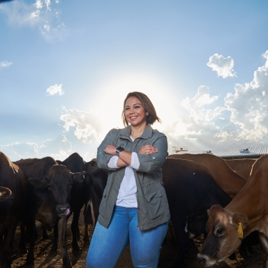The Dairy Nutritionist Making All Her Childhood Dreams Come True