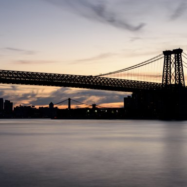 I Watched The Sunrise Over The East River And Couldn't Help But Think Of All Those Who Have Wronged Me