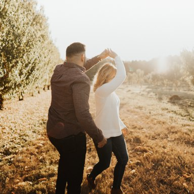 When You're With The Love Of Your Life, Getting Engaged Doesn't Change Much