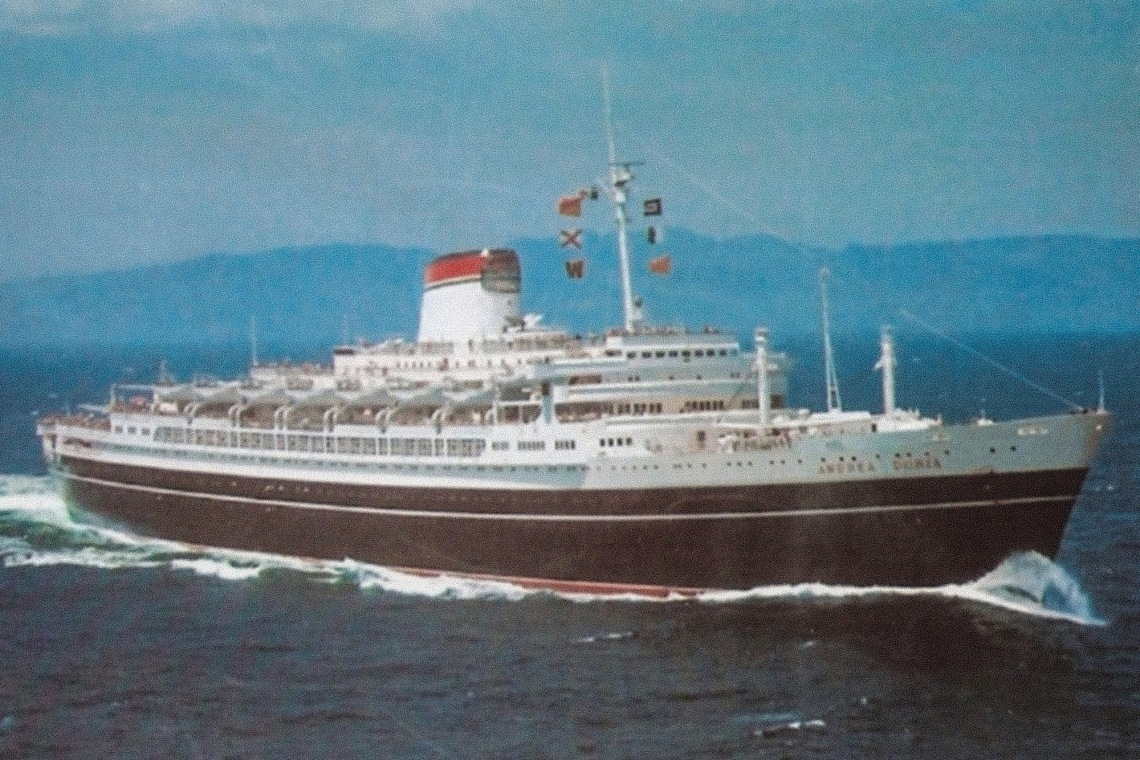 what happened to the andrea doria