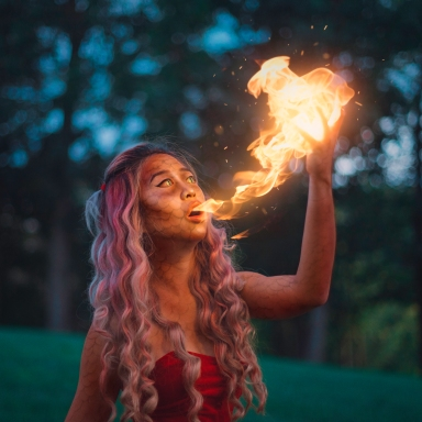 Artist Series: How To Add Fire To Your Photos with Natalia Seth