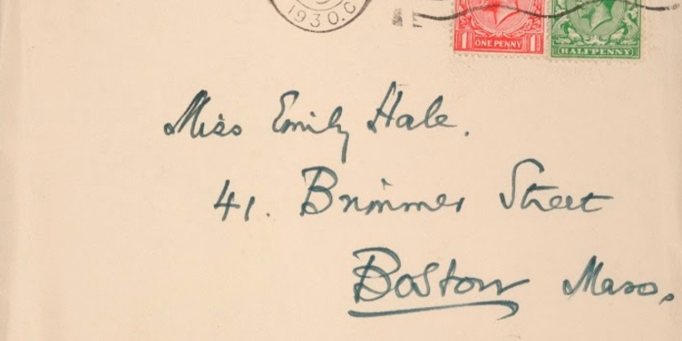 'My Dearest Emily'—The Heartbreaking Love Affair Of Emily Hale And T.S.Eliot