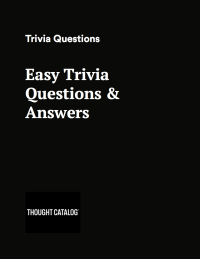 Easy Trivia Questions and Answers Printable PDF