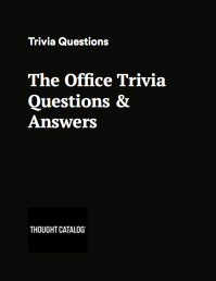 the office printable trivia questions