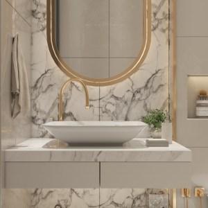 10+ Gold, Copper, and Bronze Bathroom Accessories