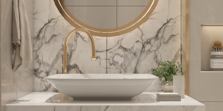 10+ Gold, Copper, and Bronze BathroomAccessories