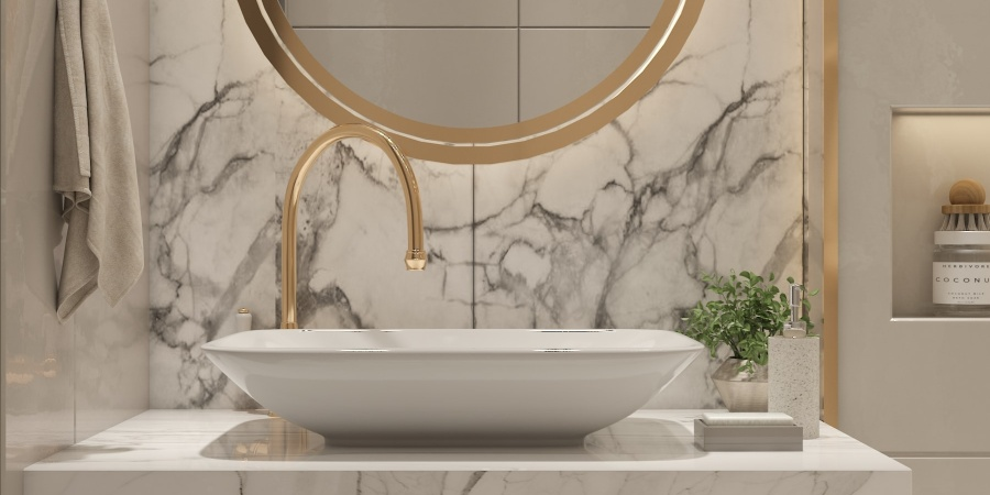 10+ Gold, Copper, and Bronze Bathroom Accessories