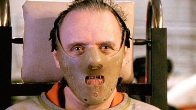 Classic horror bad guy Hannibal Lector