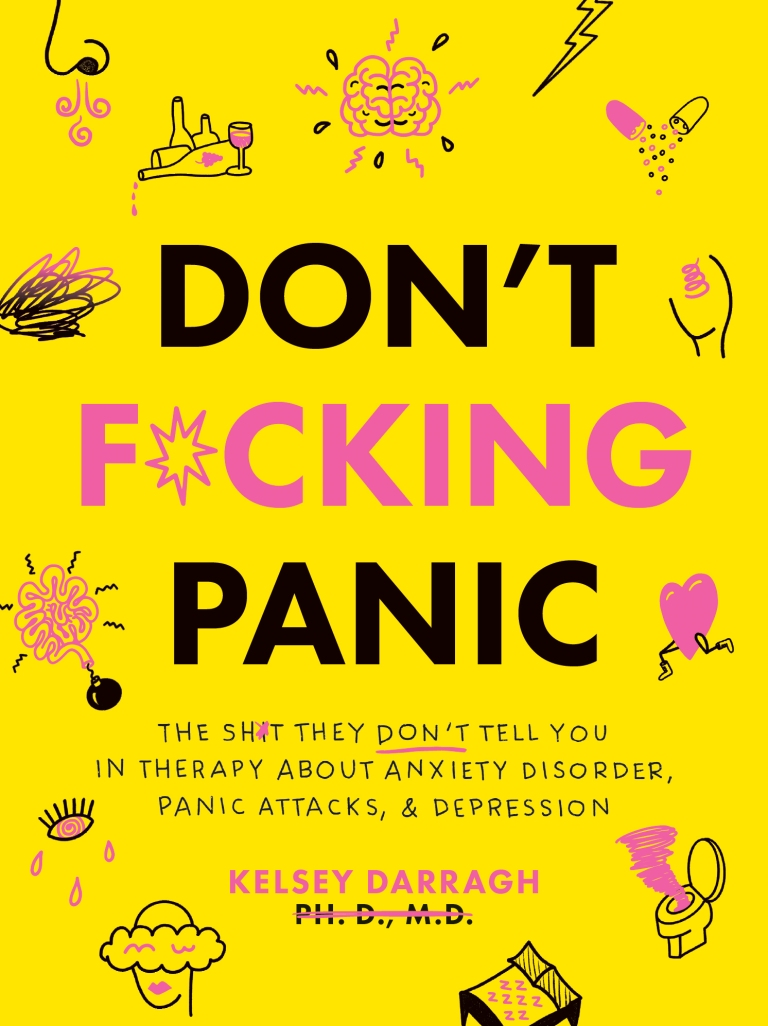 If you're going to f*cking panic — this book is here to help