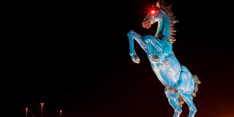 The Real Story Behind Denver Airport's Creepy 'Blucifer'Statue