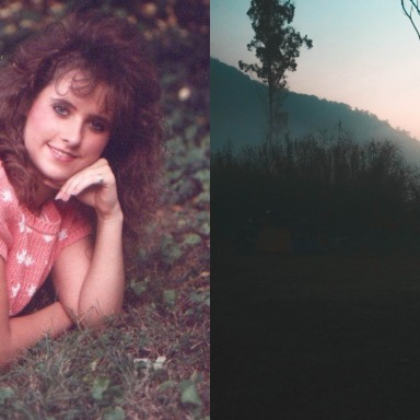 He Watched A Woman Sunbathe Through His Telescope, Then He Saw A Man Come Out Of The Woods Behind Her